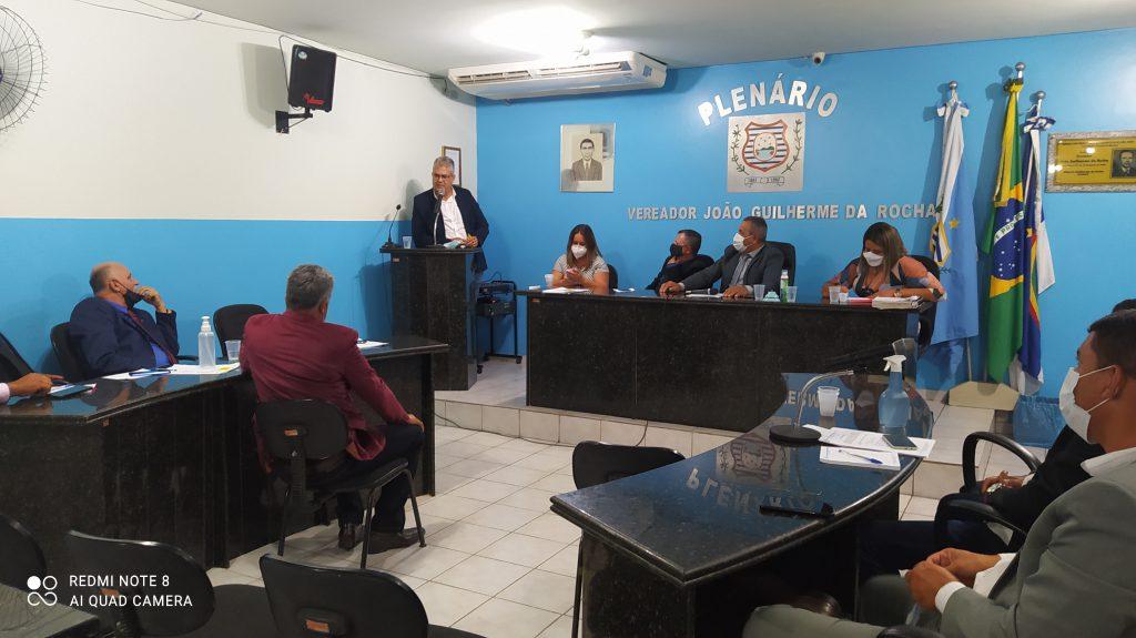 Secretário de Obras de Garanhuns fala no Plenário